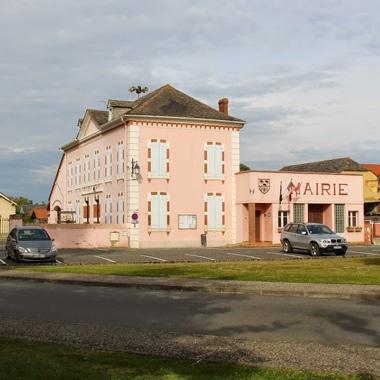 Mairie d'Andrest, dans les Hautes-Pyrénées