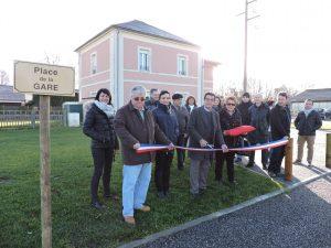 Inauguration Place de la gare 14 janvier 2017
